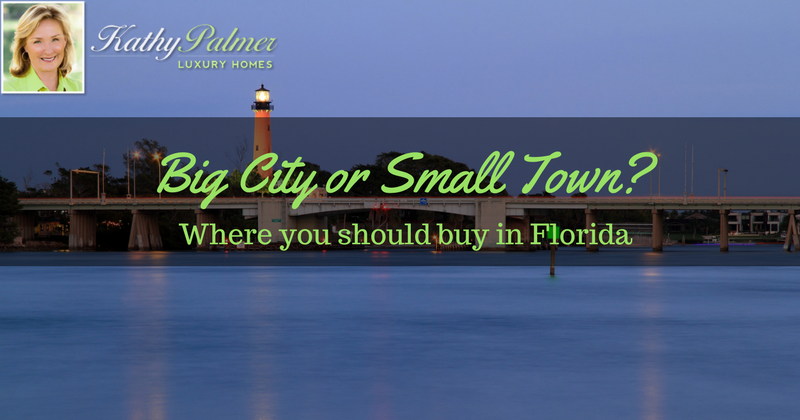 Big City or Small Town? Where you should buy in Florida